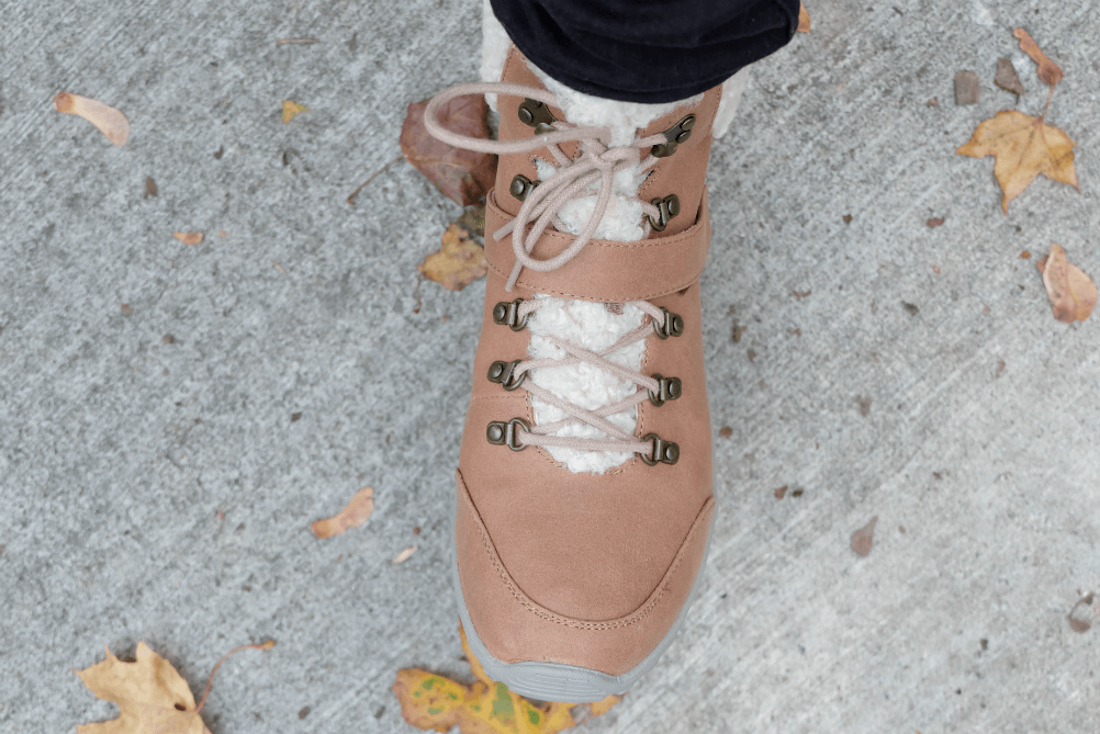 Stepping Out In The Cold With Skechers