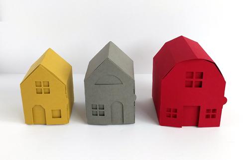 Spruce Land Paper Neighborhood Craft Kit by yeiou paper objects