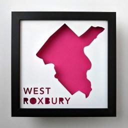 West Roxbury, Boston Neighborhood Map