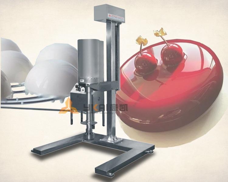 Noodle emulsification homogenizer