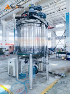 1.5 tons vacuum mixing tank
