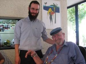 ניל מנוסי עם אביו המנוח, דידי מנוסי