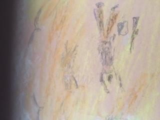 מוות במדבר, צייר - אבי גולדברג