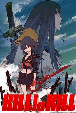 kill la kill anime series promotional poster