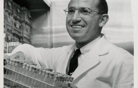 המאבק על החיסון  לפוליו