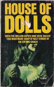 כריכה אחרת של ספרו של צטניק house of dolls