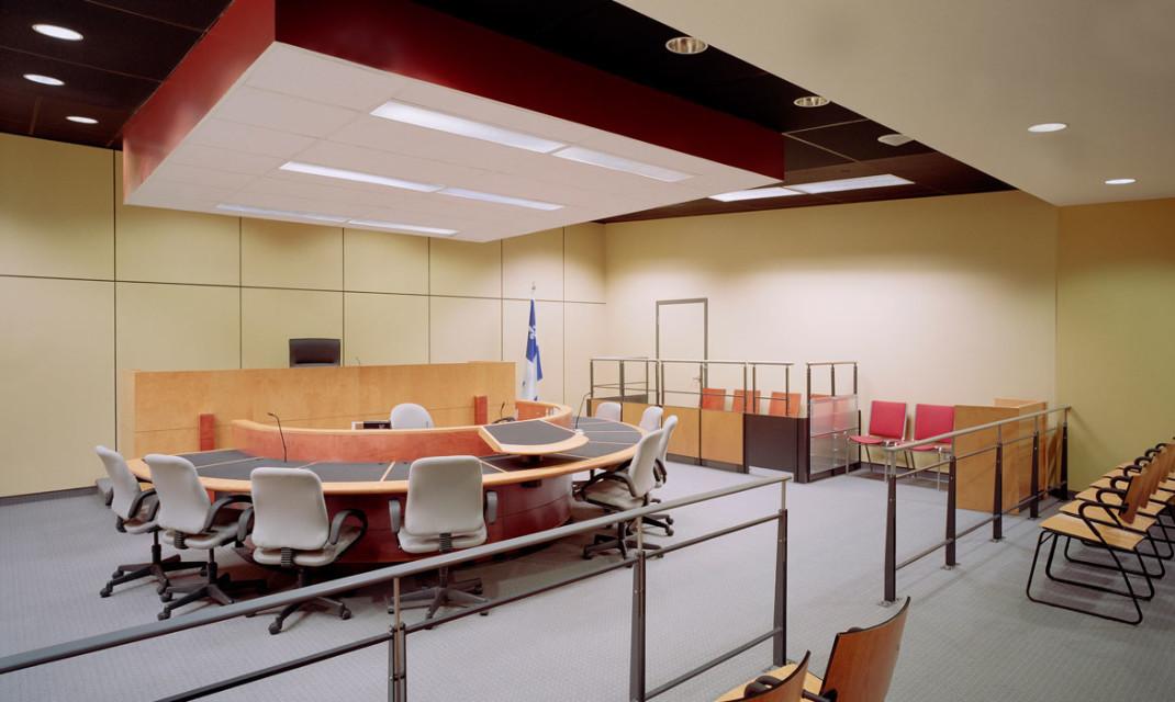 Palais de justice de SaintJrme  Yelle Maill et associs architectes YMa