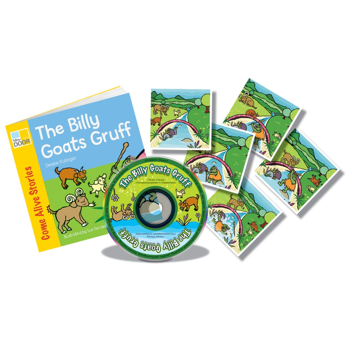 The Billy Goats Gruff Sing And Play Book Pack