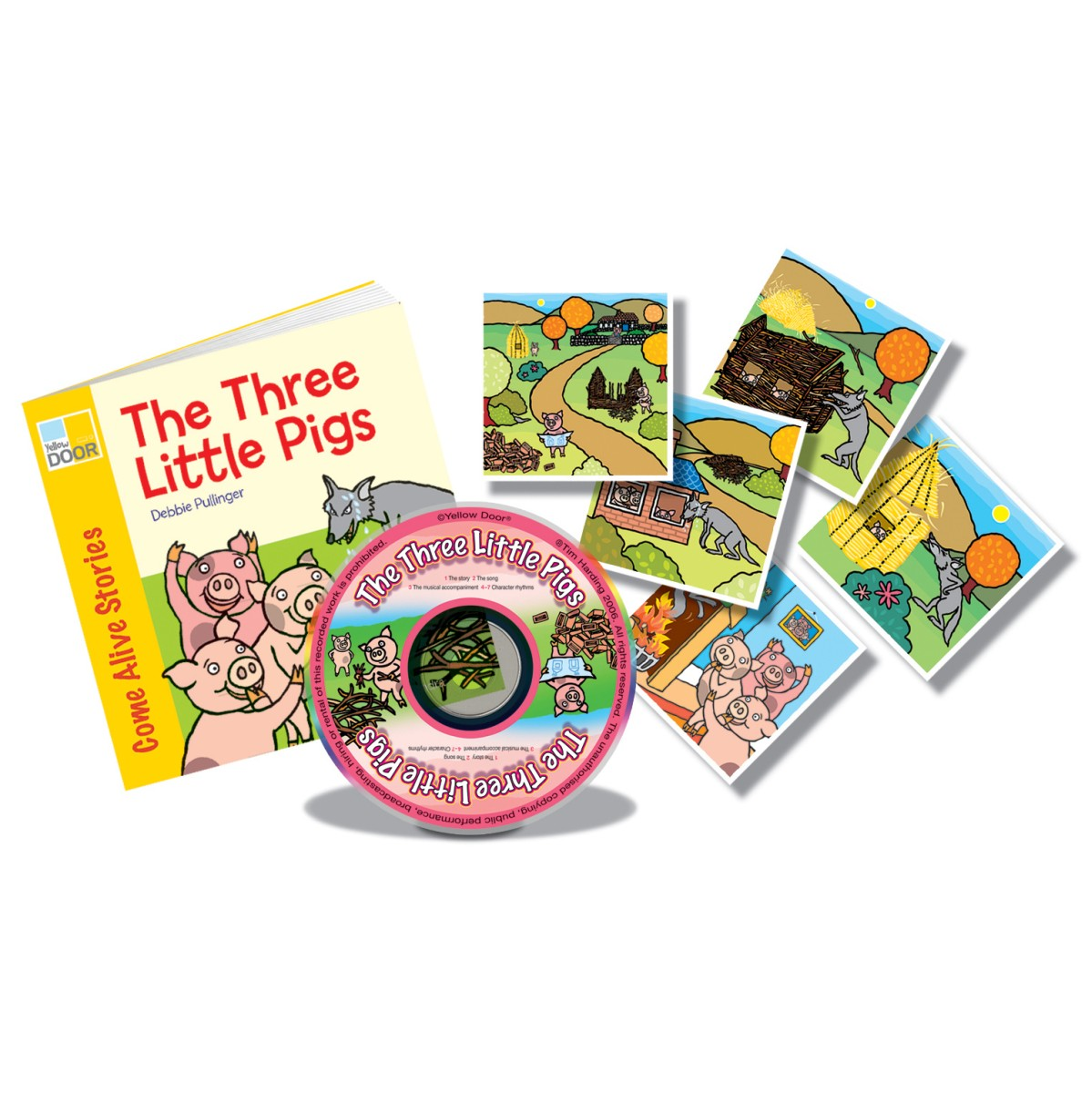 The Three Little Pigs Sing And Play Book Pack
