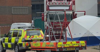 Man arrested in connection with 39 deaths in lorry container found in Grays