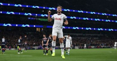 Hat-trick Harry helps Spurs to Europa seventh heaven