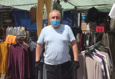 Mixed fortunes for traders as Walthamstow High Street Market reopens