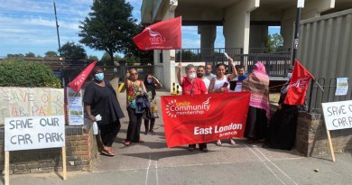 Council ready to talk after Leytonstone tower block residents stage parking protest
