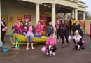 Pink ladies put best foot forward for Chalkwell charity walk