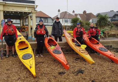 Paddle power for Chalkwell kayakers