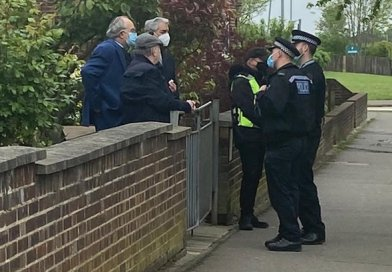 Police engage with Jewish communities after incident in Chigwell