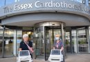 Heart equipment that will help future Basildon Hospital patients is Jim's legacy