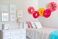 Pretty Little Girl's Bedroom Makeover - Yellow Bliss Road