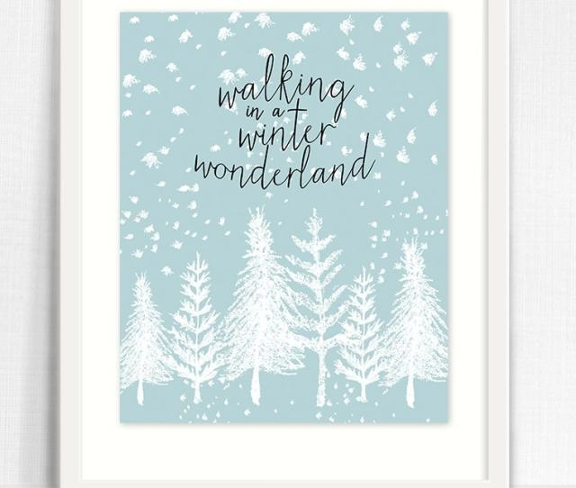 Winter Wonderland Printable By Live Laugh Rowe
