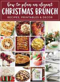 Christmas Brunch Recipes & Ideas for a Perfect Holiday Event