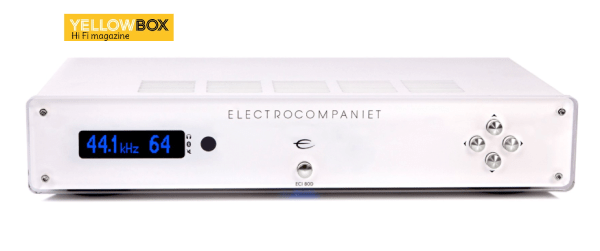 Electrocompaniet ECI 80D Integrated Amplifier. Tώρα και σε White Silver.