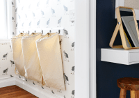 A DIY Laundry Sorter Solution - Yellow Brick Home