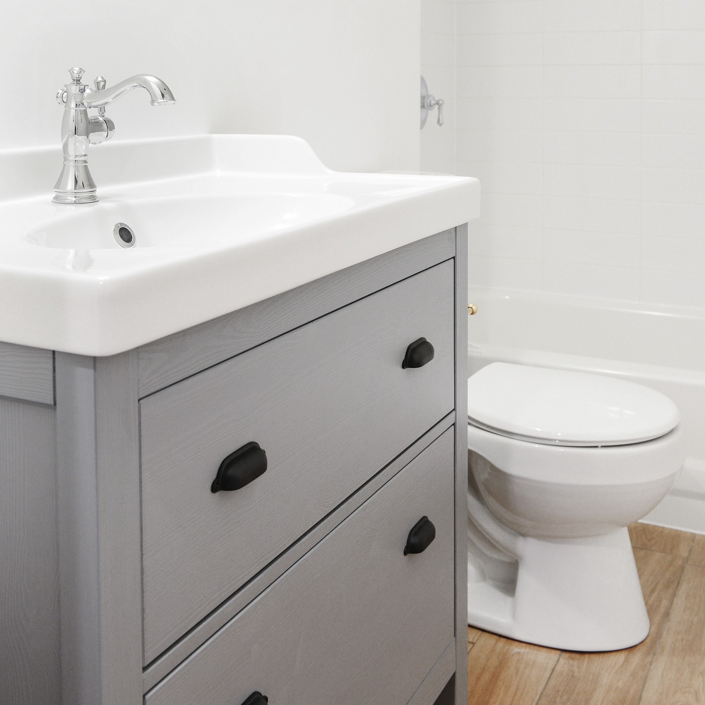 what makes an ikea vanity stand out