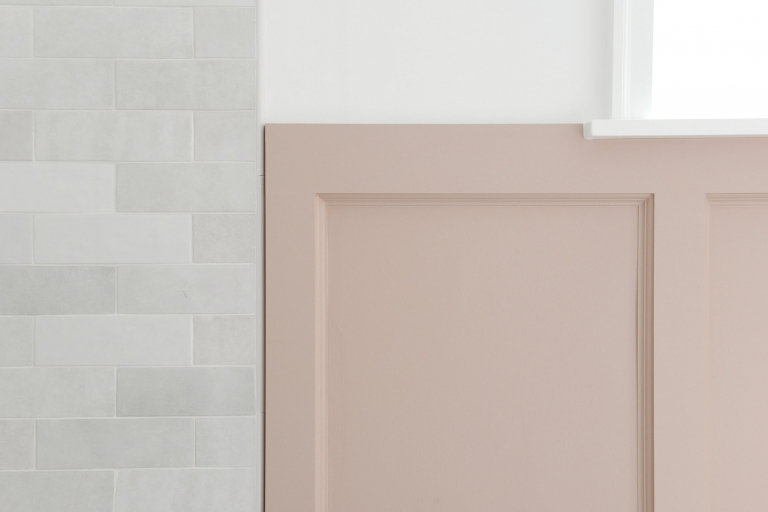 how to diy pink board and batten