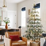 Flocked Trees In Every Shape And Size Yellow Brick Home