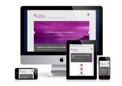 Aspirations Counselling Responsive Web Design
