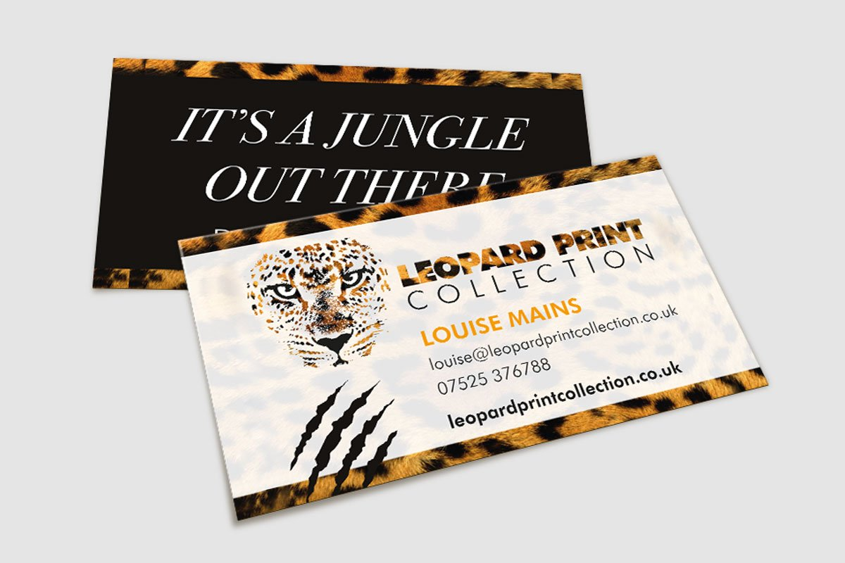 Leopard Print Collection Identity | Yellow Cat Design