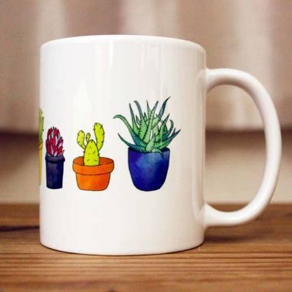 Succulents Cactus Mug
