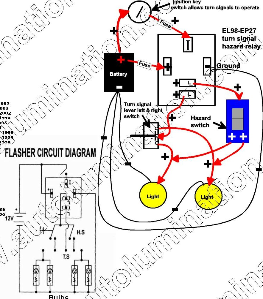 electronic flasher unit wiring diagram oil water separator for car best library dodge repair turn signal location 2 pin relay