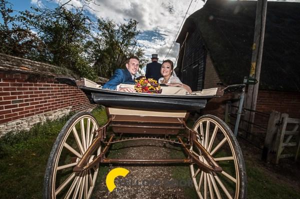 Long Wittenham wedding