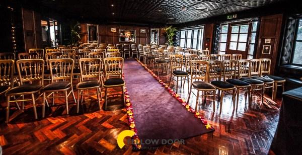 Crazy Bear wedding photos
