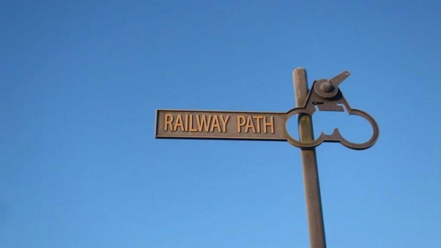 railway path 1024x576 1 1024x576 - Frozen Scotland – A lowland bikepacking adventure in winter