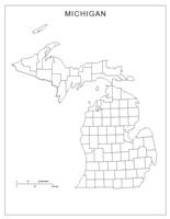 Michigan Map Online Maps Of Michigan State