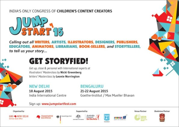 Get Storyfied at JUMPSTART 2015