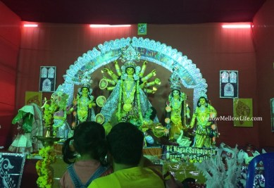 Durga Puja pandal hopping in Bangalore