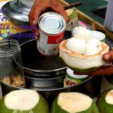 Coconut ice cream from the streets of Bangkok