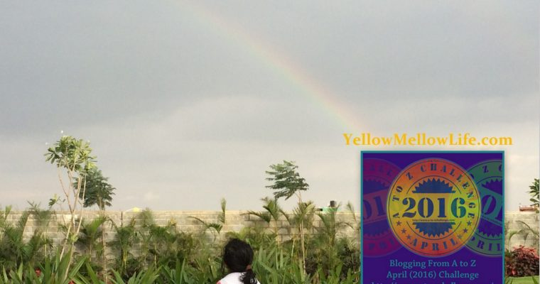 Summer With YellowMellowLife – My Theme For #AtoZChallenge
