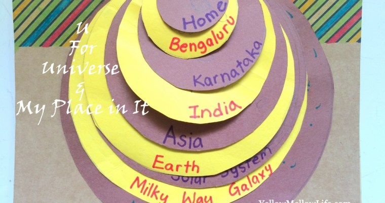 Universe and My Place in It – Kindergarten Geography Activity