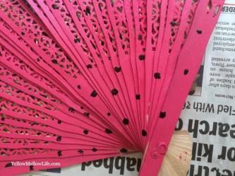 Recycling Folding Wooden Hand Fan