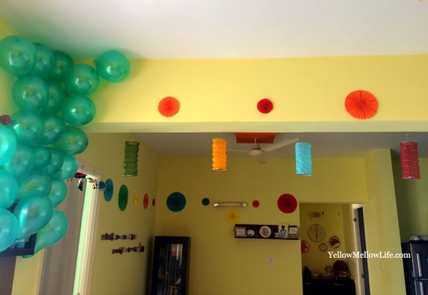 Rio inspired birthday party for kids