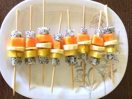 rio birthday party food