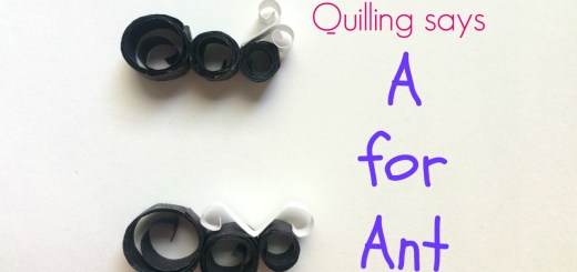 how to quill an ant