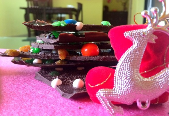 make your own chocolate bark candy