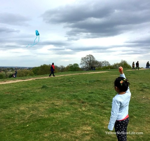 kite flying Hampstead Heath