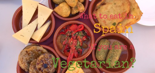 vegetarian options in Spanish food