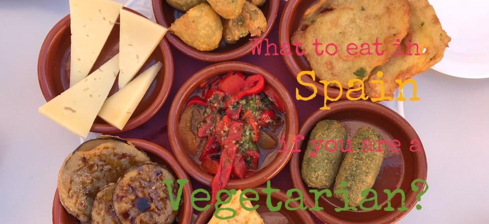 vegetarian options in Spanish food